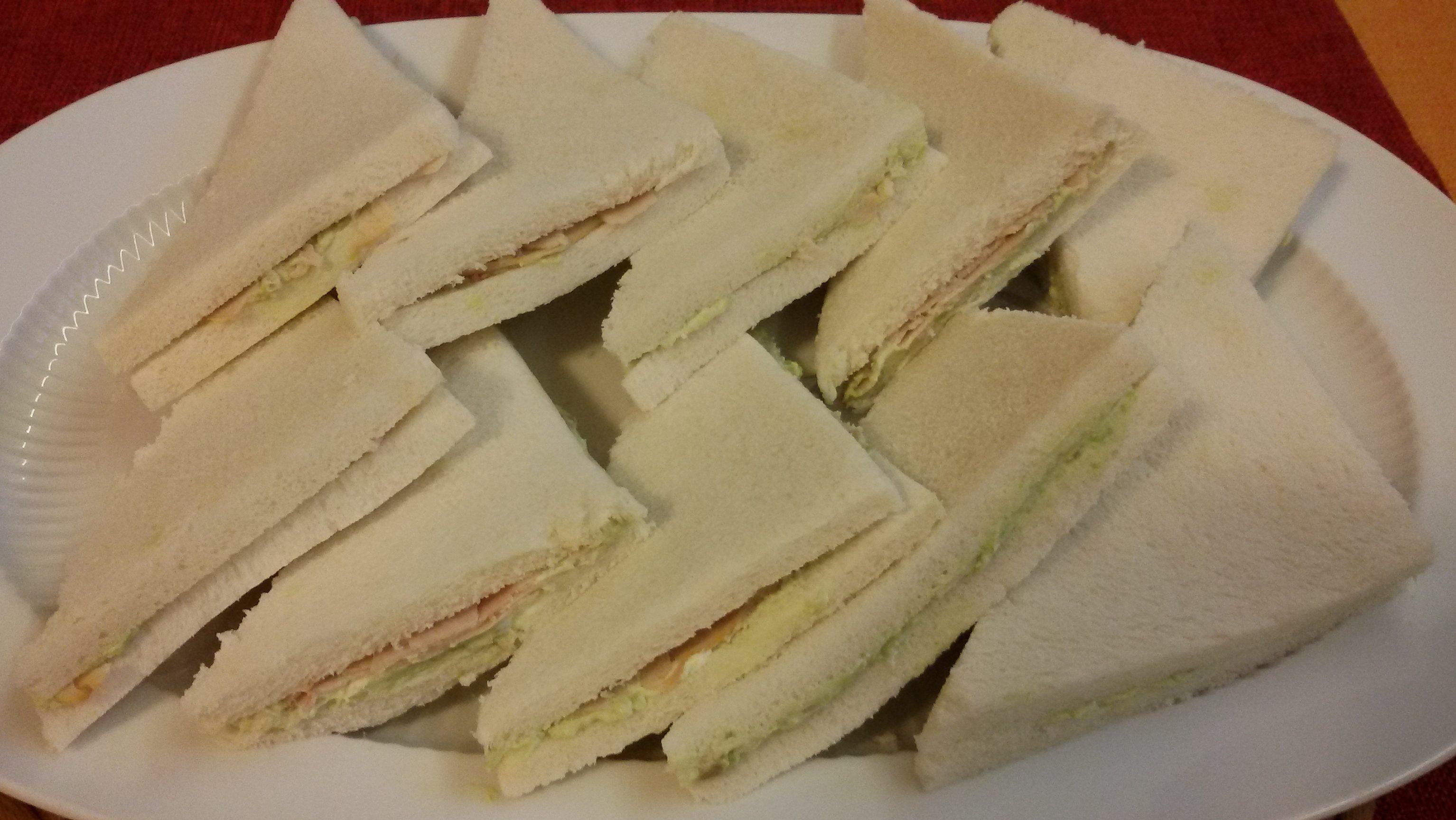 Tramezzini Fesa Di Tacchino E Avocado Semplicemente In Cucina